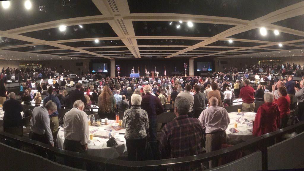 legislative day crowd