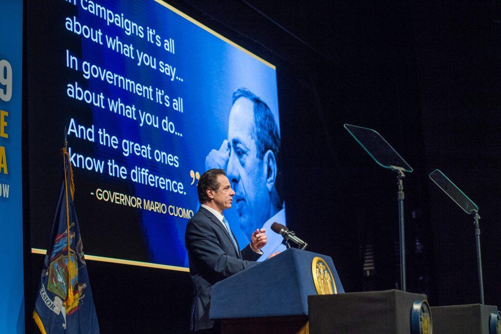 Gov. Andrew Cuomo Delivers 2019 State Address