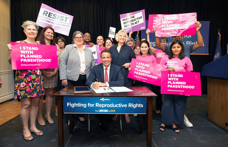 July 11, 2018 - Poughkeepsie -  Governor M. Andrew Cuomo delivers remarks during a Reproductive Rights Rally in Poughkeepsie.  (Mike Groll/Office of Governor Andrew M. Cuomo)